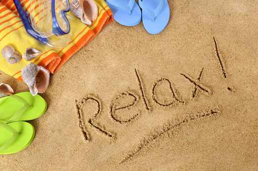 Relax beach background